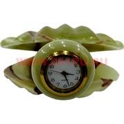Часы «Жемчужина» из оникса малые (2,5 дюйма)