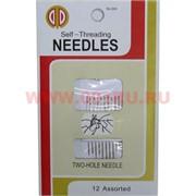 Иглы для слабовидящих Self-threading Needles, цена за 12 упаковок