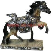 Лошадь из полистоуна на подставке 20 см (DR122)