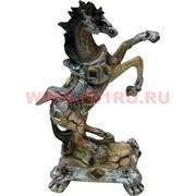 Лошадь на дыбах из полистоуна 17 см (DR123)