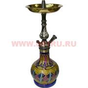 Кальян сирийский 40 см (цвет металлик)