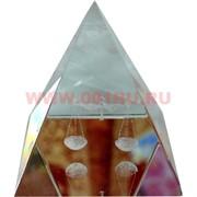 """Кристалл """"Пирамида"""" 4см, 12 шт/уп"""