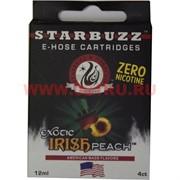 Картриджи Irish Peach 4 шт для электронного кальяна Starbuzz (без никотина)