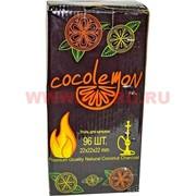 Уголь для кальяна Coco Lemon 96 кубиков 22 мм 1 кг