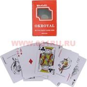 Карты игральные OKROYAL 56 карт 12 колод/уп