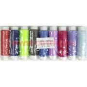 Нитки швейные синтетические №40 цветные 200 м, 20 штук