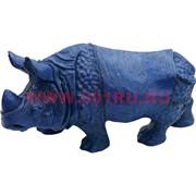 Нэцке, Синий носорог большой