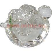 Виноградная кисть из стекла на подставке (малая) 5,5х7 см