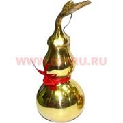 Тыква-горлянка феншуй большая 12 см (металл, раскручивается)