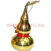 Тыква-горлянка фэншуй малая 7,5 см (металл латунь, раскручивается)