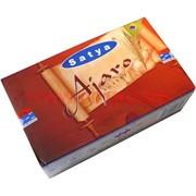 Благовония Satya Ajaro (Айзаро) 12уп х 15 гр, цена за 12 уп