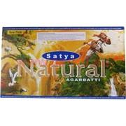 Благовония Satya Natural (Натурал) 15 грамм 12 упаковок