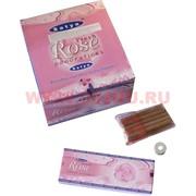 Благовония Satya Fresh Rose (Свежая Роза) 12уп х 10 палочек, цена за 12 уп