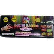Набор Loom Bands (лум бэндс) для плетения браслетов (600 резинок) 100 шт/кор