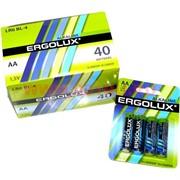 Батарейки Ergolux алкалиновые АА 40 шт, цена за уп из 40 шт