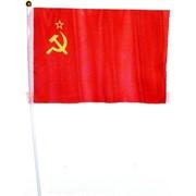 "Флаг СССР 16х24 см ""Серп и Молот"" 12 шт/бл (2400 шт/кор)"