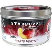"Табак для кальяна оптом Starbuzz 100 гр ""White Peach Exotic"" (белый персик) USA"