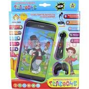 """Игрушка смартфон """"Том и Джерри"""" с наушниками многофункциональная, 96 шт/кор"""