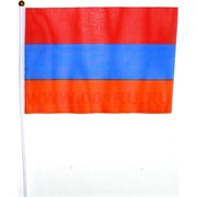 Флаг Армении 16х24 см, 12 шт/бл (2400 шт/кор)