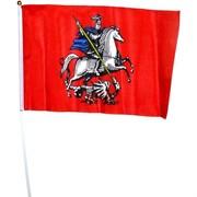 Флаг Москвы 16х24 см, 12 шт/бл (2400 шт/кор)