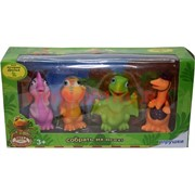 Игрушки из мультика «Поезд динозавров» цена за набор