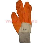Перчатки рабочие прокрашенные (цвета в ассортименте)