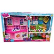 Игрушка Свинка Пеппа «кухонный набор с мебелью»