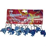 Брелок (KL-501) дельфин пластик, цена за 120 шт (2400 шт/кор)