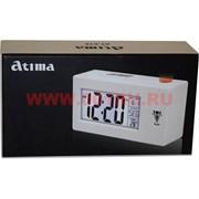 Часы настольные Atima (будильник, календарь, термометр)