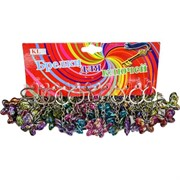 Брелок (KL-57) бабочка, цена за 120 шт (2400 шт/кор)