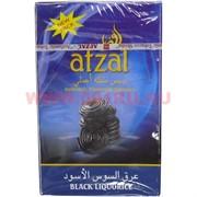 Табак для кальяна Afzal 50 гр Black Liquorice Индия (черная лакрица)