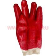 Перчатки рабочие прокрашенные Intertool прорезиненные