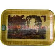 Поднос бамбуковый 20х30 см (P-794) 144 шт/кор