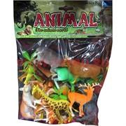 Набор игрушек «Животные» 10-12 зверей