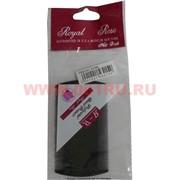 """Расческа """"Royal Rose"""" гребень, цена за упаковку 24 шт цвет черный"""