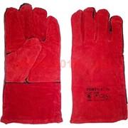 Перчатки рабочие плотные с большим пальцем цветные