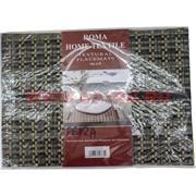 Циновки-салфетки 30х45 см в ассортименте, цена за 6 шт (P-611A)