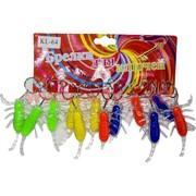 Брелок (KL-64) жук-рак светящийся, цена за 120 шт (1200 шт/кор)