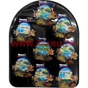 Магнит (MG-147) Черное море пейзаж, цена за 288 шт