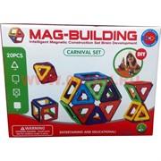 Конструктор магнитный Mag-Biulding 20 шт (48 шт/кор)