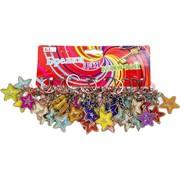 Брелок (KL-703) звезда цветная, цена за 120 шт (3360 шт/кор)