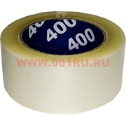 Скотч прозрачный 50 мм 66 метров Unibob 400