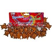 Брелок (KL-481) черепаха коричневая, цена за 120 шт (1200 шт/кор)