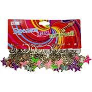 Брелок (KL-573) бабочка цветная, цена за 120 шт (2400 шт/кор)