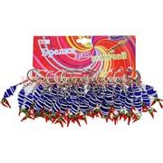 Брелок (KL-14) спираль с перцами, цена за 120 шт (1200 шт/кор)