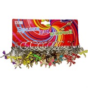Брелок (KL-574) стрекоза цветная малая, цена за 120 шт (2400 шт/кор)