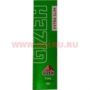Бумага для самокруток Gizeh Extra Slim Fine 66 шт (тонкая)