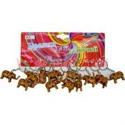 Брелок (KL-51) слоник коричневый, цена за 120 шт (2400 шт/кор)