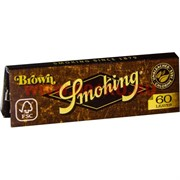 Бумага для самокруток Smoking Brown 60 шт (коричневая)