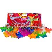 Брелок (KL-739) бабочка цветная пластмасса, цена за 120 шт (2400 шт/кор)